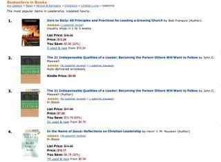 Amazon #1 Ranking